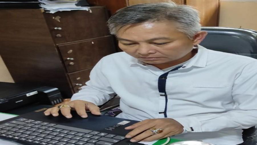 Pelaksanaan PTS (Penilaian Tengah Semester) MAN 1 Bandar Lampung Tahun Pelajaran 2021/2022