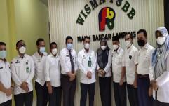 Terima Kunjungan Kepala Kantor Wilayah Kementerian Agama Provinsi Lampung